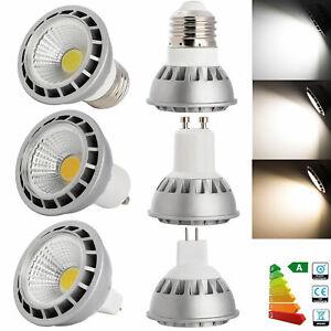 Dimmable 220V 110V GU10 MR16 E27 E26 15W LED SpotLight COB Bulb High Power Lamp