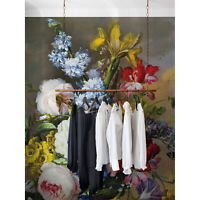 Wall Mural Sticker Still Life Bouquet Oil Painting Century Removable Wallpaper