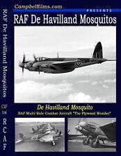 De Havilland Mosquito RAF British Bomber WW2 War Recon Pathfinder Aircraft film