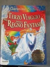 GERONIMO STILTON - TERZO VIAGGIO NEL REGNO DELLA FANTASIA - CARTONATO - PIEMME