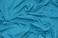 Turquois  Poplin Fabric Polyester Solid 60'' YD Table Covers Decoration Apparel