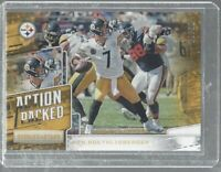 Ben Rothlisberger 2018 Panini Rookies N Stars Action packed Gold SP insert/10 NF