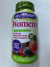 vitafusion Women's Multivitamin Gummy 150 Gummies Energy Metabolism & Bone Vitam