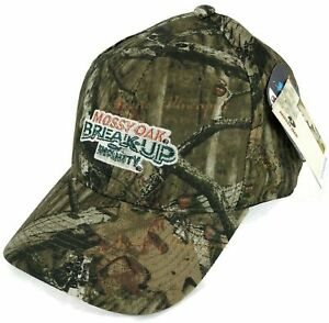 Mossy Oak Break Up Infinity Hunting Camouflage Licensed Hat Quick Wicking OSFM