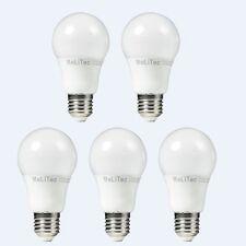 5 Stück MeLiTec 6,5W LED E27 Birne (40W Licht Glühbirne) 2700K Warmweiß 470Lm 89