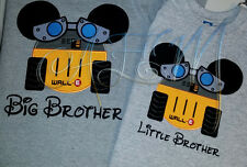 Personalized Wall-E Mousehead T-shirts machine embroidered