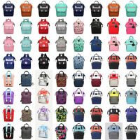 Diaper Nappy Changing Mummy Bags Baby Care Large Rucksack Maternity Backpack Bag