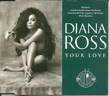 DIANA ROSS Your Love w/ 2 RARE 93 REMIXES Europe CD single USA seller SEALED