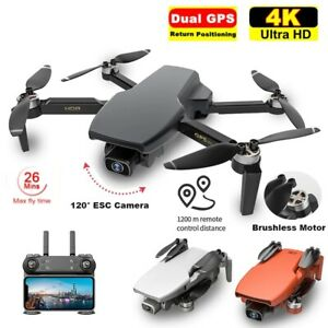 2021 S3 Drone GPS 5G WIFI FPV 4K HD Wide Angle Camera Professional RC Quadcopter