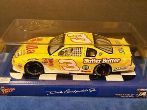 2002 WINNERS CIRCLE 1/24 SCALE DALE EARNHARDT JR #3 NUTTER BUTTER CHEVY NASCAR