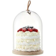 LSA Ivalo cake/cheese Dome & Ash Base - 22 Cm