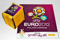 Panini EM Euro 2012 – 100 Tüten packets + Leeralbum album INTERNATIONAL VERSION
