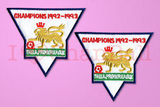 England Premier League Champion 92-93 Sleeve Gold Patch / Badge ManUnited Jersey