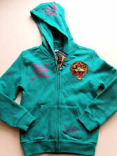 NWT Girls Ed Hardy Audigier TIGER Hoodie Jacket 4 5 NEW