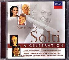 SOLTI CELEBRATION Gheorghiu Vengerov Rostropovich Von Otter Zubin Mehta CD 1998