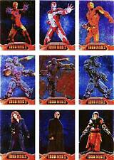 Iron Man 2 Movie Embossed Armor Complete 9 Card Foil Chase Set AC1 to AC9