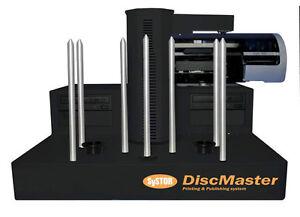 SySTOR DiscMaster 1200P Automatic 2 Burner CD/DVD Disc Publisher PicoJet Printer