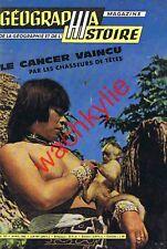 Géographia histoire 127 de 04/1962 Kurdes cancer Stanley Livingstone Bangkok