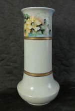 Gorgeous Antique Heinrich & Co Selb Bavaria Hand Painted Flower Vase - Signed
