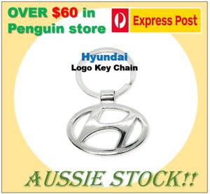 Hyundai Logo Titanium Car Key Chain Keyring Car Keychain Keyring Aussie Stock