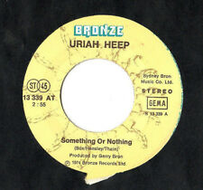 "URIAH HEEP.SOMETHING OR NOTHING / WHAT CAN I DO.GERMAN ORIG 7"".EX+"