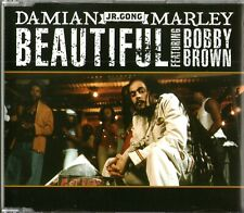 DAMIAN MARLEY FEAT. BOBBY BROWN - Beautiful - (1 Track Promo CD) - MINT / NEW