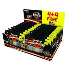 Energizer 8x AA Batteries Max+ Powerseal Technology High Performance Expiry 2026