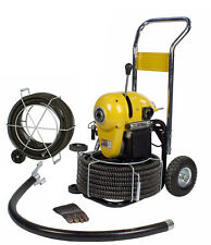 Steel Dragon Tools K1500a Drain Cleaner Cleaning Machine 120 C11 Snake Cable