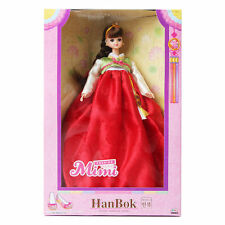 MIMIWORLD Fashion mimi Hanbok Red Children Toy Korean Traditional Clothing