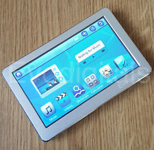 "Nouveau Argent 32 Go 4.3"" écran Tactile MP5 MP4 Lecteur MP3 Direct Play video + TV out"