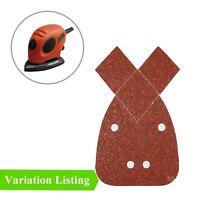 Sanding Sheet Pads fits Black & Decker Mouse 140mm Hook and Loop Palm Sander