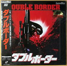 "1987 Widescreen ""NM Laserdisc"" Double Border SF078-1358 Japan Extreme Prejudice"
