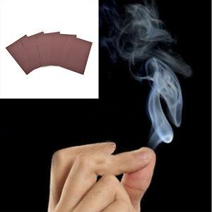 5x New Magic Smoke from Finger Tips Magic Trick Surprise Prank Joke Mystical Jx