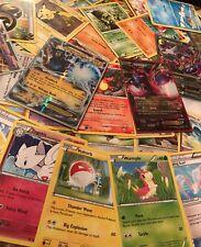 Pokemon card lot (120) COMMON, UNCOMMON, RARE & HOLO CARDS! EX or Ultra Rare!!