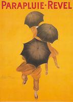 Parapluie-Revel Vintage Print Paper Poster Canvas Framed Art Painting