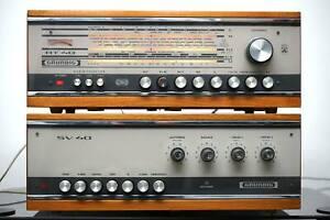 Grundig SV-40 + RT-40 Vintage Stereo Vollverstärker + Tuner