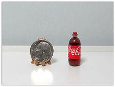 Dollhouse Miniature Plastic Cola Bottle