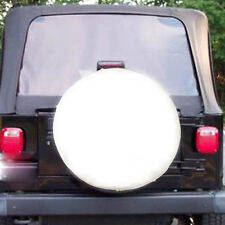 "White Spare Wheel Tire Tyre Cover Case Protector 26"" 27"" S For Toyota RAV4 97-05"
