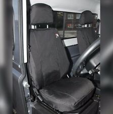 Land Rover Defender Waterproof Seat Covers Black - Front Row 2 Seats DA2818BLACK