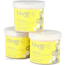 Hive von Beauty 3er-Pack Creme Wachs Soft-Touch Formel einfach Auftragen creme