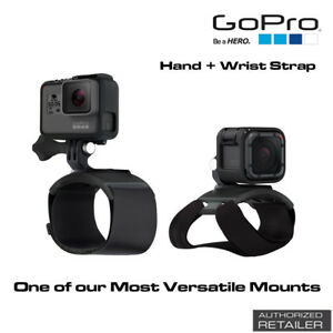 GoPro Hand + Wrist Strap to Capture Ultra Immersive Point-of-View Footage NEW