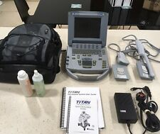 Sonosite Titan Portable Ultrasound System + C60/5-2 and ICT/8-5 probes + Bag