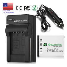 1200mAh NP-45A Battery + Charger For Fujifilm FinePix XP10 XP60 J10 J20 J100 Z31