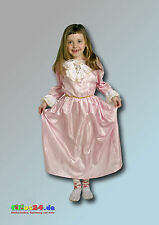 Costume bambini rosa principessa VESTITO CARNEVALE PER DEL 4 anni tg. 110