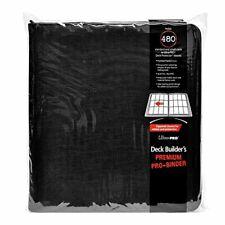 Ultra Pro Deck Builders Premium Pro Binder 480 Cards Zippered Closure 84277