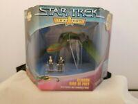 Star Trek Strike Force Klingon Bird Of Prey with Walkris Commander Kruge 1997