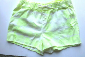 Justice Girls' Size 20 Plus Distressed Tie Dye Short with Cut Off Hems