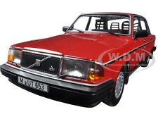 1986 VOLVO 240 GL RED LTD ED 804PCS 1/18 DIECAST MODEL BY MINICHAMPS 155171401