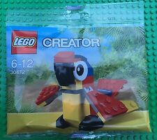 Lego Creator 30472 Red PARROT Promotional Polybag Animal NISB Xmas Present Gift