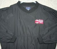 Port Authority Black Extra Large Polyester Golf Pullover Jacket Coat WindBreaker